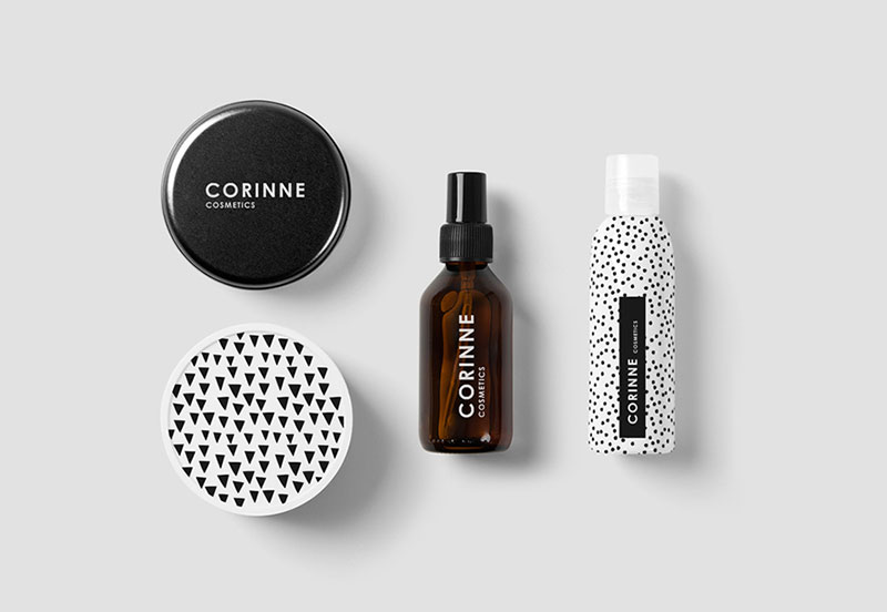 Coconut Shower Gel, Body Lotion & Body Cream by Corine