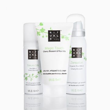 Rituals… Cherry Blossom & Rice Milk Bodycare Set
